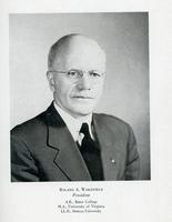 Dr. Roland Wakefield, President 1944-1950