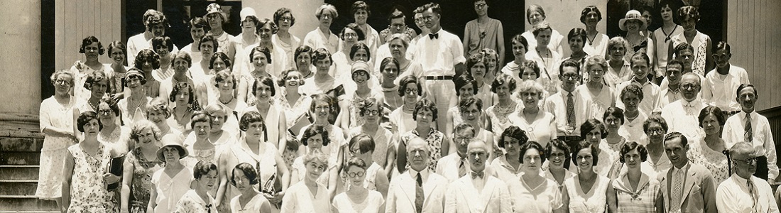 Group photo of female students (links to SPC Photographs collection)