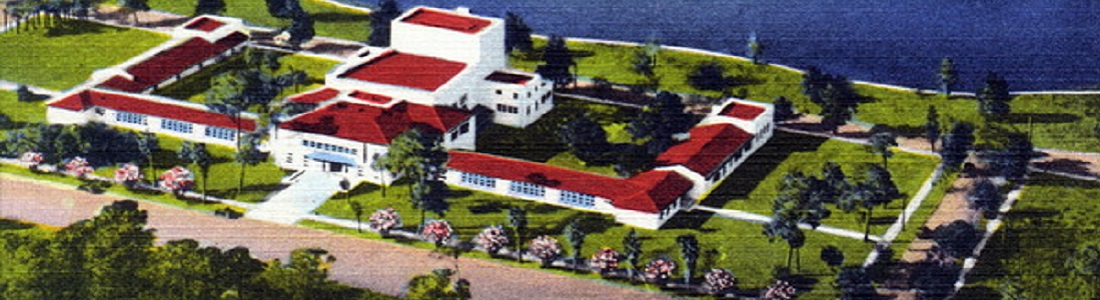 postcard photo of a building (links to the SPC catalogs collection)